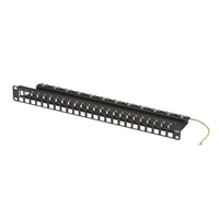 CAT6a Blank Patch Panel, 24-Port