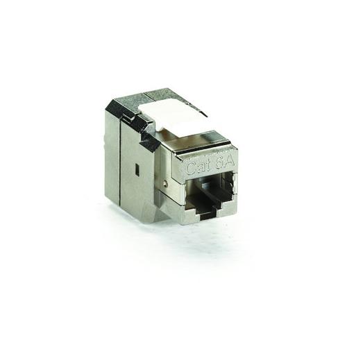FMT700, CAT6a Shielded Jack, T568B Wiring 4-Pair - Black Box on