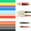 Coloured Multimode OM1 Patch Cable - LSZH Duplex