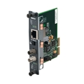 Transparent Ethernet Module, 10BASE-T to 10BASE-FL, Multimode, 850-nm, ST