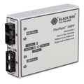 FlexPoint 100-Mbps Multimode to Single-Mode Fiber-to-Fiber Mode Converter