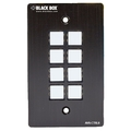 Panel de control con placa de pared, RS-232, 8 botones