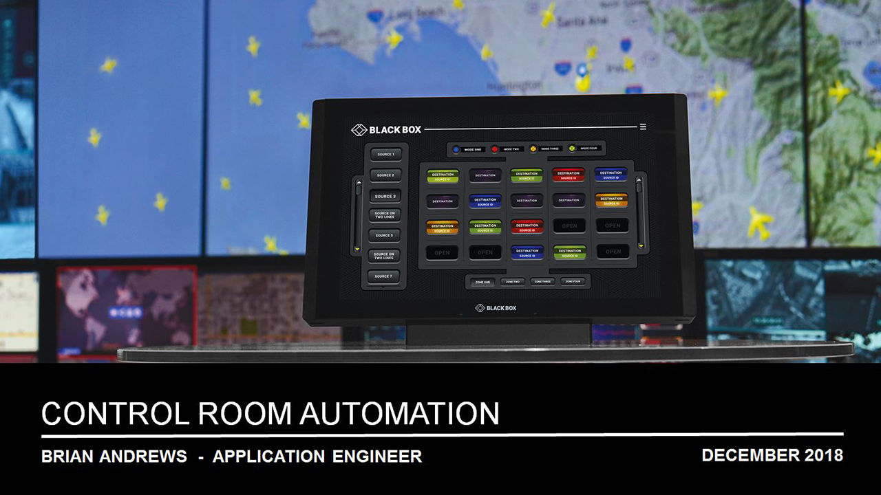 Webinar: The Future of Automation in Control Rooms